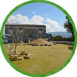 大橋保育園園庭